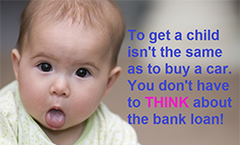 Child vs Bank loan