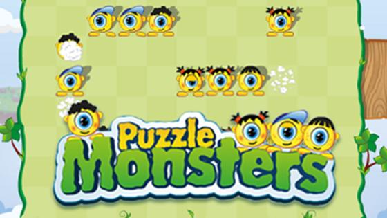 Puzzle monsters - monstrii rostogoliti