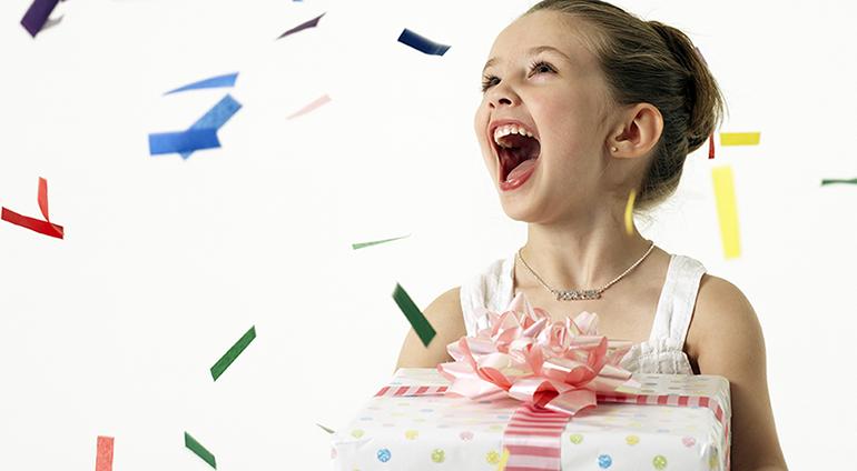1st of June present - Cadou pentru copii 1 iunie